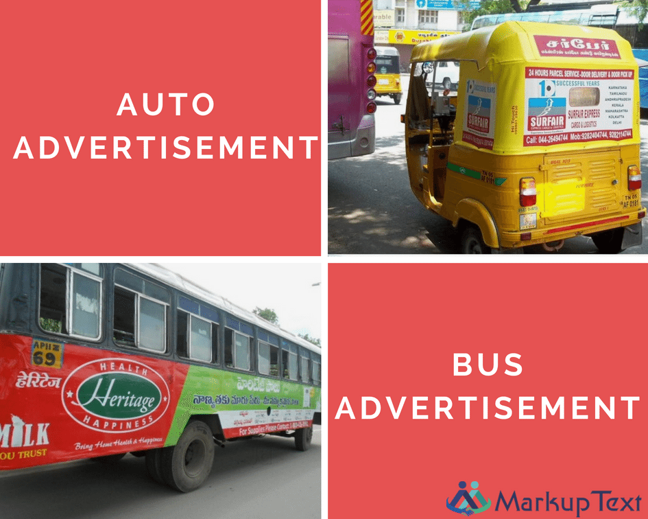 best bus ads and auto advertisement services in hyderabad